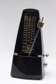An image of a mechanical metronome